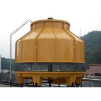 供应80T优质圆形玻璃钢冷却塔工业型冷却塔
