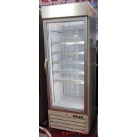 供应立式低温玻璃门冰箱