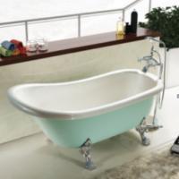 酒店古典贵妃独立式亚力克优美耐用高质量无裙浴缸