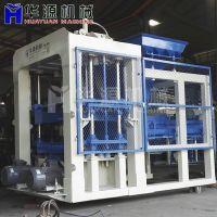 QT10-15透水砖机 多功能砖机 水泥面包 全自动砖机空心砖机 免烧