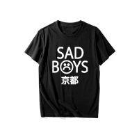 2017夏季新款时髦Sad Boys短袖男士纯棉T恤青少年男女款T恤上衣潮