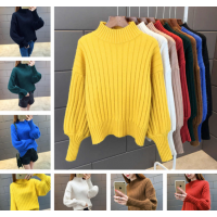 去哪找今年工厂库存处理几元毛衣批发厂家女装长袖加绒打底衫便宜批发