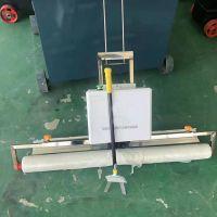 混凝土覆膜机 新修桥面去脚印铺膜机 高频率振动覆膜机
