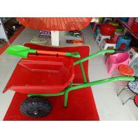 儿童沙滩车 推土车 过家家儿童双轮小推车  自产自销