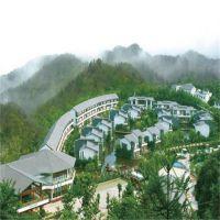 杭州西湖白鹭度假山庄4台5匹奥栋空气能热泵热水工程