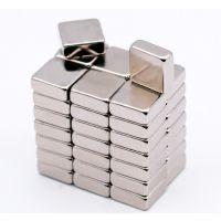供应小方块磁铁专卖 牌号N48磁钢销售 钕铁硼强力磁铁片