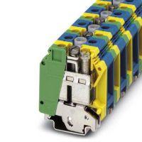 接线端子|连接器|接插件|排针|建筑安装用接地端子 - UK 35-PE/N - 3008054