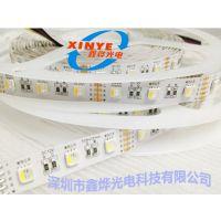 厂家直销 led灯带5050rgbw 全彩灯条暖白/正白 低压12V