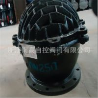 厂家销售 H42X-10 DN65 吸水底阀 球式铸铁底阀