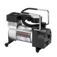 汽车充气泵 单缸车用充气泵打气泵 12V车载轮胎冲气泵打气机