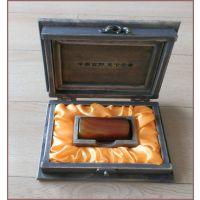 热销古玉章 玛瑙印章 香樟木礼盒 老樟木饰品盒 商务礼品