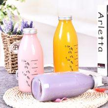 生产宏华厂家玻璃瓶定制玻璃饮料瓶