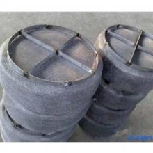 喷淋塔丝网除雾器经常用在哪些行业_不锈钢 塑料材质_安平上善定做