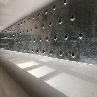 建筑专用脚手架 圆孔起鼓防滑板 天津钢架板冲孔板定制