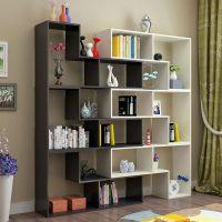 简约组合书柜书架多功能置物架酒柜玄关隔断展示柜