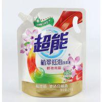 塑料吸嘴袋供应 彩印塑料包装袋 环保塑料包装袋 洗衣液包装袋