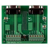 泓格带1.5 M D-sub 9 芯电缆的螺钉端子板DB-8425