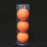 深圳PVC透明圆筒 圆筒包装 高尔夫球pvc卷边包装筒现货供应