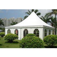 常州户外欧式休闲四角顶帐篷尖顶篷房——常一篷房制造