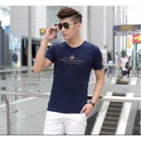 低至两三元纯棉男士短袖T恤夏季T恤青少年打底衫厂家跳楼价批发