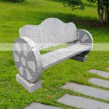 石雕石凳长椅天然花岗岩户外休闲长条石头椅子雕塑摆件曲阳万洋雕刻厂家直销