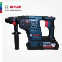 博世BOSCH原装进口轻型圆柄锂电充多功能电锤三用GBH36V-Li PULS