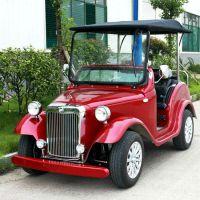 厂家直销4座四轮电动观光车公园巡逻车景区旅游代步车