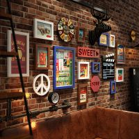 jsh工业风墙壁装饰品复古墙饰创意家居壁饰客厅墙面挂件酒吧墙上