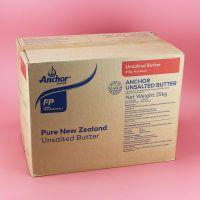 新西兰进口安佳淡味黄油动物性奶油牛油25kg烘焙原料原味无盐黄油