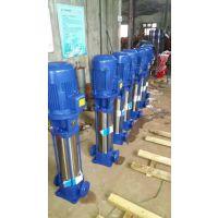 上海厂家供应40GDL6-12*9立式不锈钢多级管道离心泵,管道增压水泵高压高扬程全铜电机无泄漏