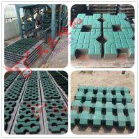 环保背心植草砖机 3-15全自动菱形砖机 吊篮配重块设备