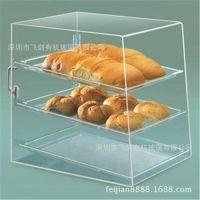 亚克力蛋糕展示架 有机玻璃婚宴蛋糕展示架 小甜品熟食保鲜柜定制