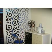 上海波浪板厂家专业定制浴室饭厅隔断通花板密度板雕花板镂空板