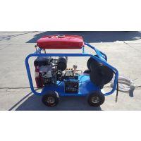伍德化工厂冷凝器管道疏通机 高压清洗机价格