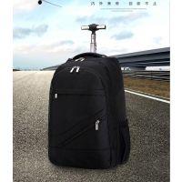 厂家批发定制巴克军刀拉杆箱拉杆双肩背书包18寸电脑背包旅行李箱
