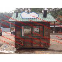 主题特色可移动儿童公园摊位车 三明售货亭 广场流动餐饮售货车