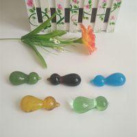 批发生产玻璃手工艺品创意葫芦筷架定制餐具设计餐桌装饰品打样