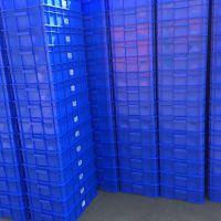 荣昌物流箱塑料盒餐具收纳箱生产厂家 PP塑胶周转框