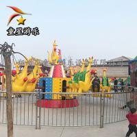 生动可爱的欢乐袋鼠跳童星游乐主题公园儿童游乐设备