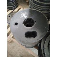 宁波PZ-5/7喷浆机配件 喷浆机上下结合板 橡胶密封板
