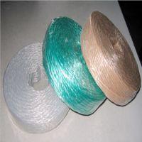 6MM三股pp绳子 三股粘连撕裂膜绳 抗磨损、耐腐蚀、光滑柔软、手感舒适,应用广泛