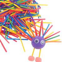 亲子互动玩具 算数木条原木彩色棒 幼儿园diy手工材料制作批发