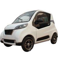 低速迷你型电瓶车四轮 油电混合电动汽车老年人代步新款电动轿车