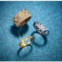专注精工艺的K金首饰加工厂家 广州正东珠宝 15年经验 先进设备 铂金钻戒定制