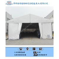 聊城铝合金篷房被很多人用作生产制造型企业的仓库