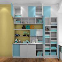实木书柜储物柜带锁档案柜资料柜凭证小柜子儿童书房家具定做