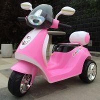 新款米奇踏板式儿童小三轮电动小木兰摩托车儿童小摩托 正品促销