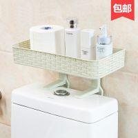 新款厕所置物架洗澡间墙上卫生架子摆放架纸巾收纳架家用耐用迷你