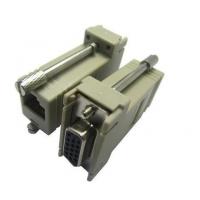 供应兴伸展电子8P DSUB 9PIN 对 RJ45 JACK转接头/矩形低频通讯转接头