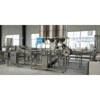大型豆制品加工厂,济南科华全自动豆腐皮机厂家,大型豆腐皮机时产400-500斤产品